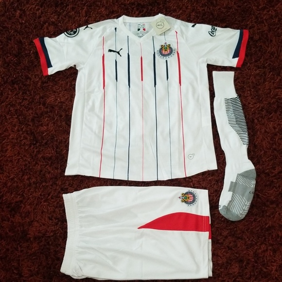 8a27ad5f0 CHIVAS AWAY 2018 19 ADULT UNIFORM SOCCER JERSEY